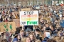 Hollanda'da öğrencilerden iklim protestosu