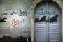 Balat'ta Ermeni kilisesinin duvarlarına tehdit yazıları yazıldı