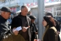 Kayseri Adayı Eylem Sarıoğlu'nun gönüllü çalışanlarına polis engeli