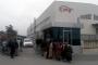Tazminatları ödenmeyen CPS Otomotiv işçileri fabrika önüne geldi
