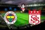 Süper Lig'de 26'ncı hafta Fenerbahçe-Sivasspor maçı ile başlıyor