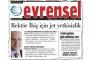 Rektör Erkan İbiş'in Evrensel'e açtığı davada ret kararı onandı
