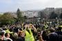 Fransa'da sarı yelekliler eylemlerin yasaklanmasına rağmen sokaklarda