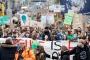 Almanya'da binlerce öğrenciden iklim protestosu