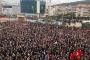 """Gebze'de binlerce eğitimci """"Şiddete hayır"""" diyerek yürüdü"""