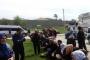 Medyanın açlık grevi 'sessizliği' Fox TV önünde protesto edildi