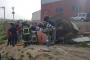 Dilovası'nda iş kazası: Forktliftin altında kalan işçi yaralandı
