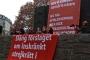 İsveç'te grev hakkının kısıtlanmasına karşı protestolar düzenlendi