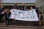 ODTÜ öğrencileri polise, şiddete, nefrete karşı dersleri boykot etti