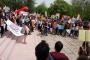 ODTÜ'de polis saldırısına ve yasaklara karşı dersler boykot edildi