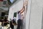 Dersim'de ressamlar halkla birlikte trafoya şahmeran çizdi