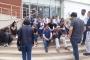 Sözleşmeleri feshedilen Çiğli Belediyesi çalışanları eyleme başladı