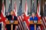 ABD Başkanı Trump Londra'da: Protesto görmedim, dolayısıyla yalan haber