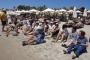 Halk, plajlarının şirket tarafından işgal edilmesine tepki gösterdi