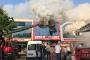 Bağcılar'da İSTOÇ'ta işyeri yangını