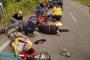 Mültecileri taşıyan araç takla attı: 11 yaralı