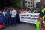 Suudi Arabistan'daki greve destek: Devlet vatandaşına sahip çıkmıyor