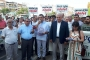 JES karşıtı halk toplantısına soruşturmaya Aydın'da kitlesel protesto