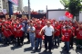 Ataşehir Belediyesi işçileri grev kararını astı