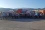 Bornova Belediye işçilerinden Aliağa Belediyesinden atılan işçilere destek
