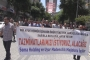 Somalı madenciler yasağa rağmen hakları için yürüyüşte kararlı