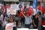 Sözleşmeli öğretmenler eş durumu tayini talebiyle Ankara'ya geldi
