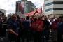 Uzel işçilerinden Türk Metal protestosu