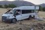 Fındık işçilerini taşıyan minibüs devrildi çok sayıda yaralı var