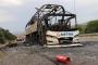 Anadolu Otoyolu'nda seyir halindeki Metro Turizme ait yolcu otobüsü yandı