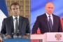 Fransa Cumhurbaşkanı Macron,Rusya Devlet Başkanı Putin ile görüştü