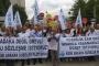 KESK üyesi kamu emekçileri pek çok ilde eylem yaptı: Sefalet zammına hayır