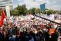 EYT'liler Ankara'da düzenledikleri mitingde Meclise seslendi