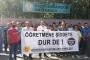 Diyarbakır'da bir öğretmenin şiddete uğraması Eğitim Sen tarafından protesto edildi