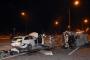 İşçi servisi ile otomobil çarpıştı: 2 ölü, 16 yaralı