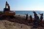 Bozcaada Habbele Koyu kıyısındaki çalışmaya tepki
