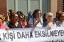 Diyarbakır'da devlet hastanesinde çalışan kadına yönelik saldırı protesto edildi