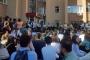 Cerrahpaşa Veteriner Fakültesi'nde hasarlı binalara karşı oturma eylemi