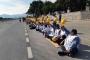 Ankara'ya yürüyen Somalı madencilere engel sürüyor: Madenciye yolu aç