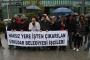 Üsküdar Belediyesinden atılan işçiler işlerinin iadesini istedi