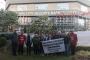 Emek Partisi eylemdeki Maltepe Belediyesi işçilerini ziyaret etti