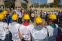 Yürüyüşleri engellenen Somalı maden işçilerine destek ziyareti