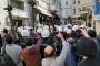 Operasyona tepki gösteren Cumartesi Annelerinin eylemine gazlı polis engeli