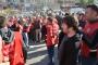 Eskişehir'den Ankara'ya yürüyen metal işçilerine polis engeli: 32 işçi gözaltında