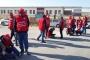 Ücretleri için Eskişehir'den Ankara'ya yürüyen metal işçileri yine engellendi
