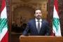 Lübnan Başbakanı Saad Hariri istifasını Cumhurbaşkanı Avn'a sundu