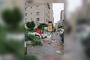 Maltepe'de grev kırıcı 'temizlik gönüllüleri' devrede!