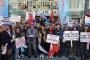 Koton'da işten atılan işçiler Bakırköy'de eylem düzenledi