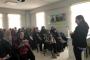 Eskişehir'de kadınlara hakları anlatıldı: Şiddete karşı sessiz kalmayacağız