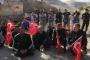 Hasankeyf'te basın açıklaması yapan konut mağdurları gözaltına alındı