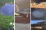 Yok edilen Dipsiz Göl'e dereden su veriliyor